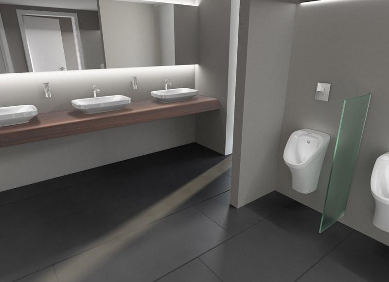 Duravit equipa los ba os p blicos de casa decor con for Accesorios para banos discapacitados