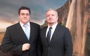 David Fernández (izqda) y Eladio Llamas (dcha)