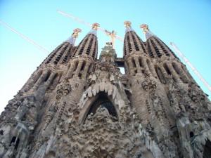 La Sagrada Familia de Barcelona. ©www.sxc.hu