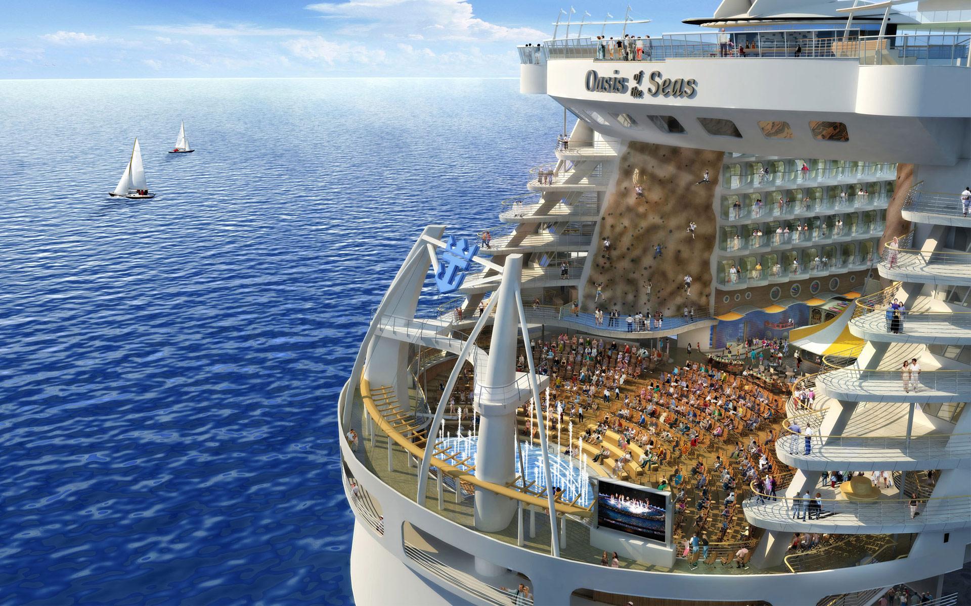 Royal Caribbean Trae A Barcelona El Crucero Ms Grande Del