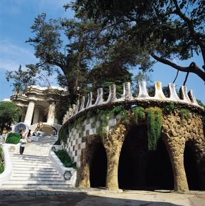 Parque Güell (Barcelona). Fotografía cedida por Turisme de Barcelona.