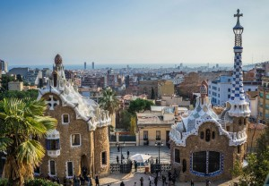Parque Güell (Barcelona). Cedida por Hoteling.com