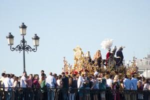 Semana Santa en Sevilla. Fotografía cedida por Turismo de Sevilla