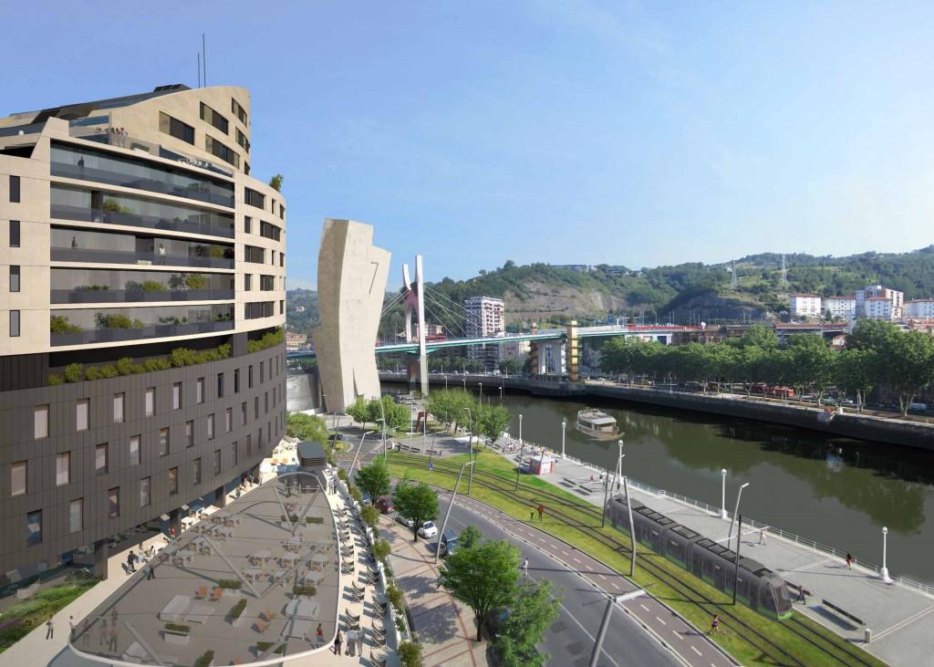 nuevo proyecto de vincci hoteles en bilbao para 2017