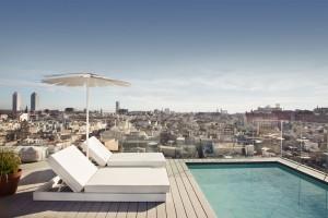 Yurbban Trafalgar, primer hotel del grupo en Barcelona