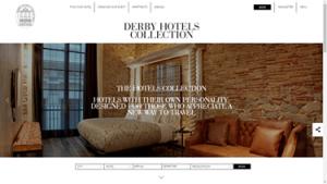 Derby hotels collection renueva su web e imagen for Derby hotels collection