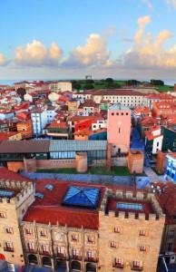 Panorámica de Gijón. Cedida por Gijón Turismo