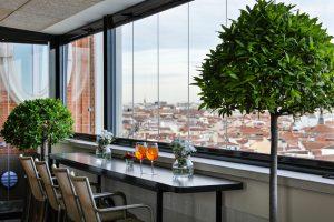 El Hotel Emperador De Madrid Abre Su Terraza De Invierno