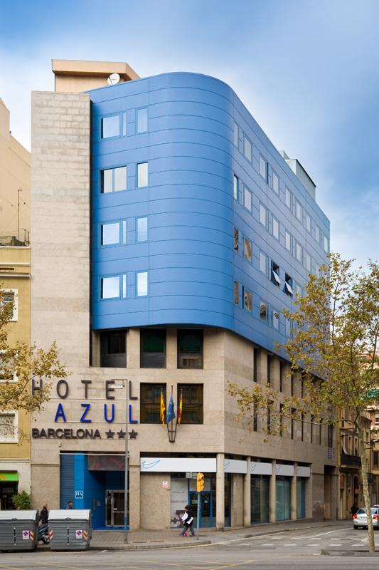 Sercotel ampl a su oferta en barcelona con el hotel azul for Barcellona albergo economico
